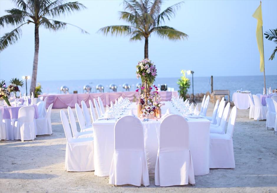 ボホール島のおすすめリゾート ミティ・リゾートのビーチ挙式イメージ
