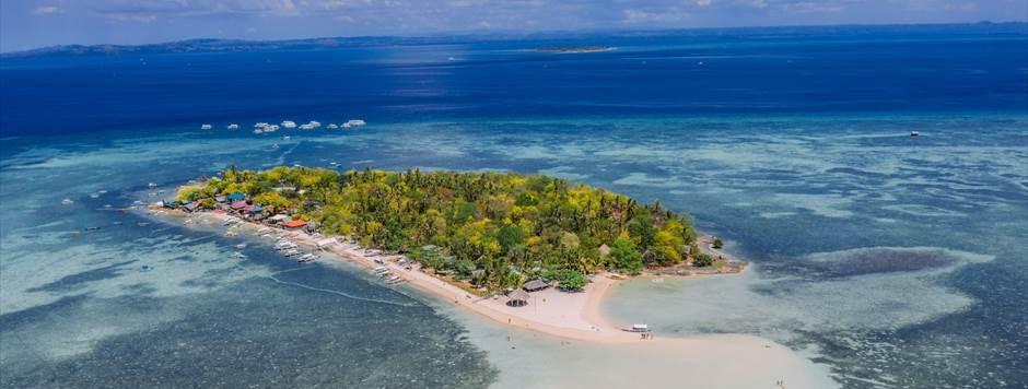 セブ島人気フォトウェディング撮影スポットのカオハガン島