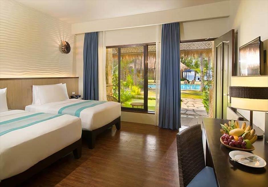 ボホール島サウス・パーム・リゾートのプールヴィラ
