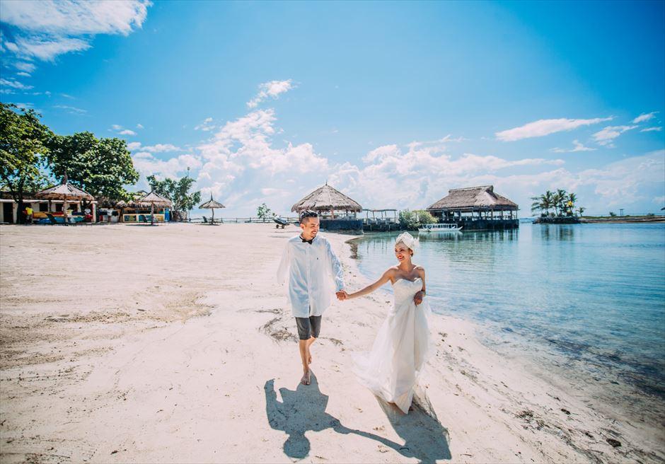 セブ島ビーチフォトを人気のマリバゴ・ブルーウォーターで撮影