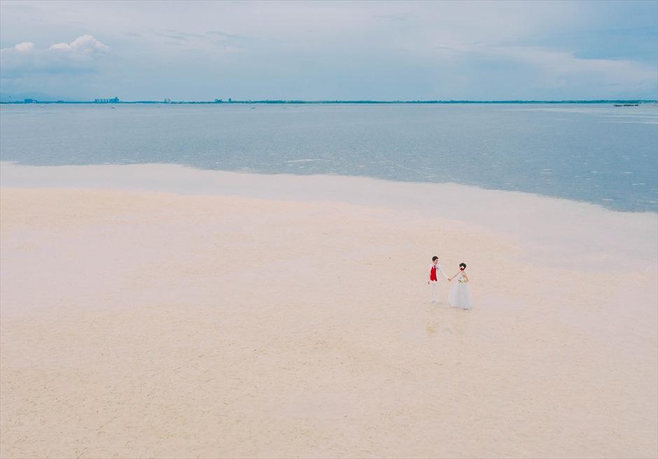 セブの離島フォト撮影ではドローン撮影がおすすめ