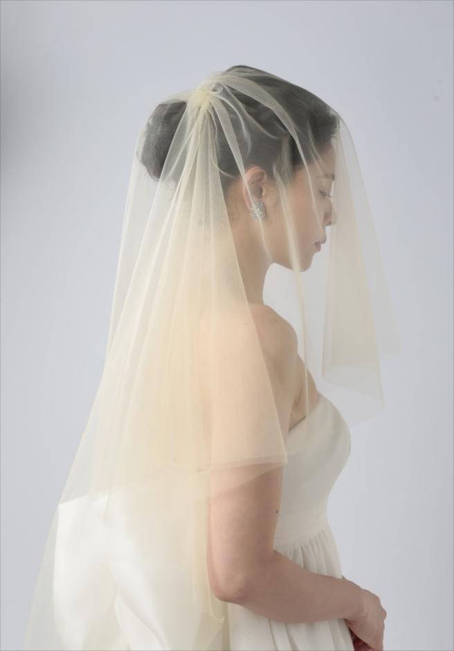 セブ島フォトウェディング 人気ドレス・アイテム イエロー/カラーベール