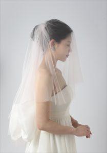 セブ島前撮りのドレスアイテム ピンクbベージュのベール
