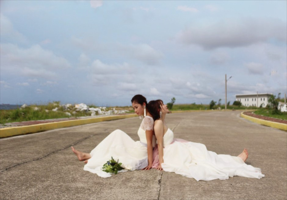 セブ島フォトウェディングのドレスが新入荷