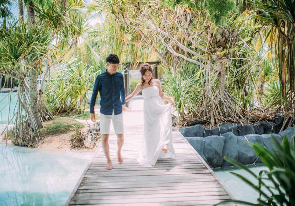 セブ島でカップルのロケーション・フォト撮影