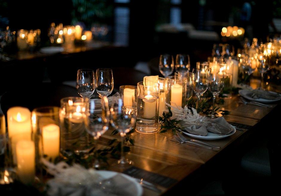 セブ島結婚式 アバカ パーティー装飾