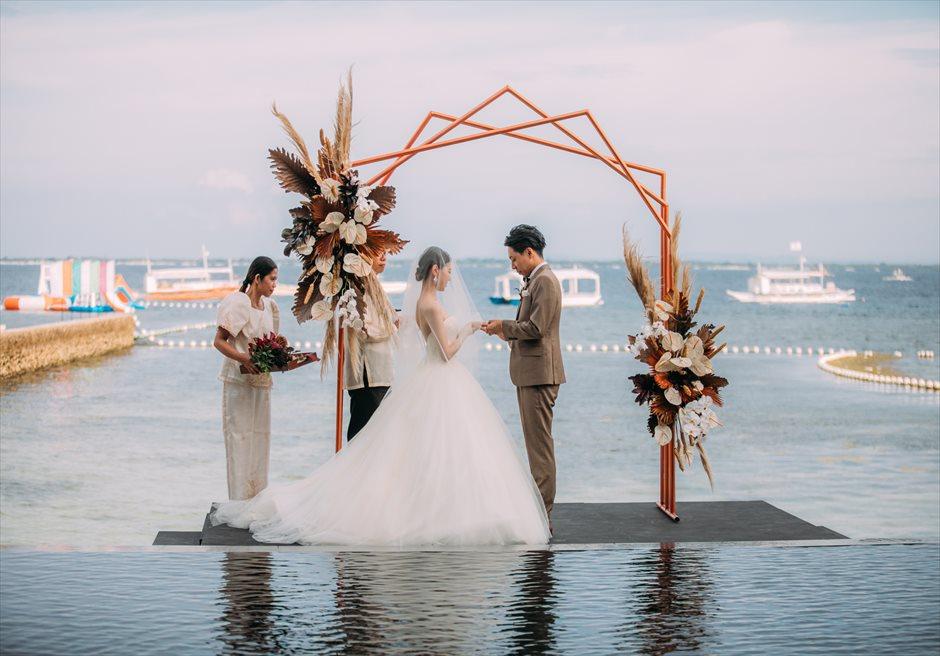 セブ結婚式 アバカリゾート 会場装飾