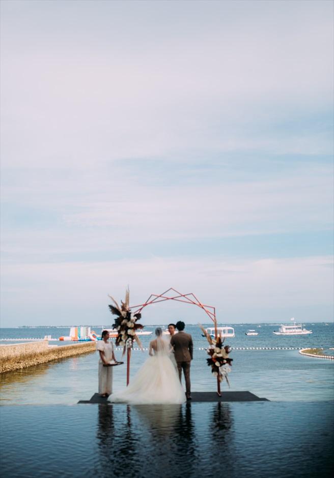 セブ島結婚式 会場デコレーション