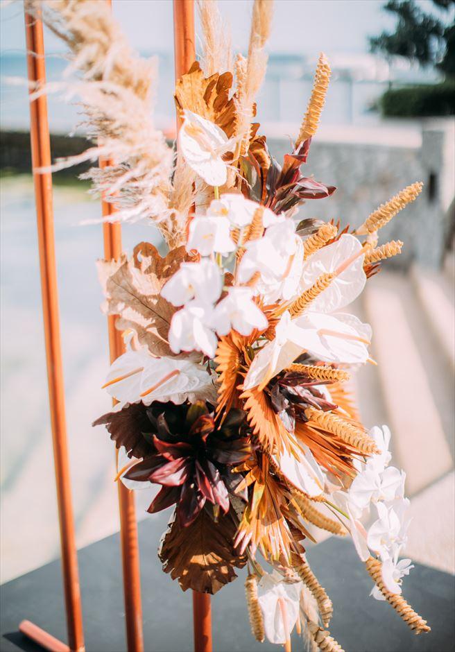 セブ島 アバカ挙式 生花デコレーション