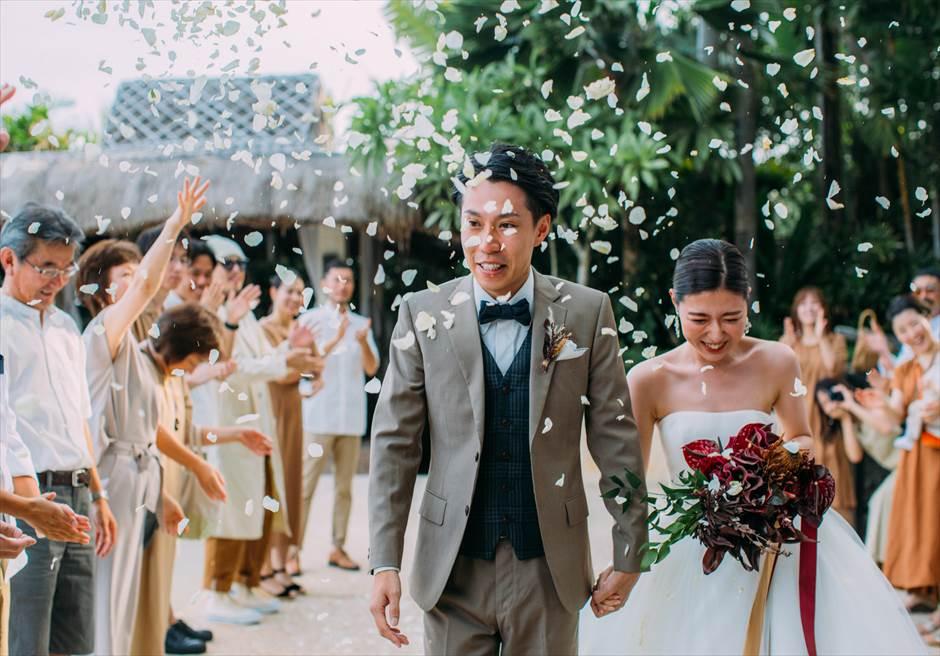 セブ島結婚式 フラワーシャワー