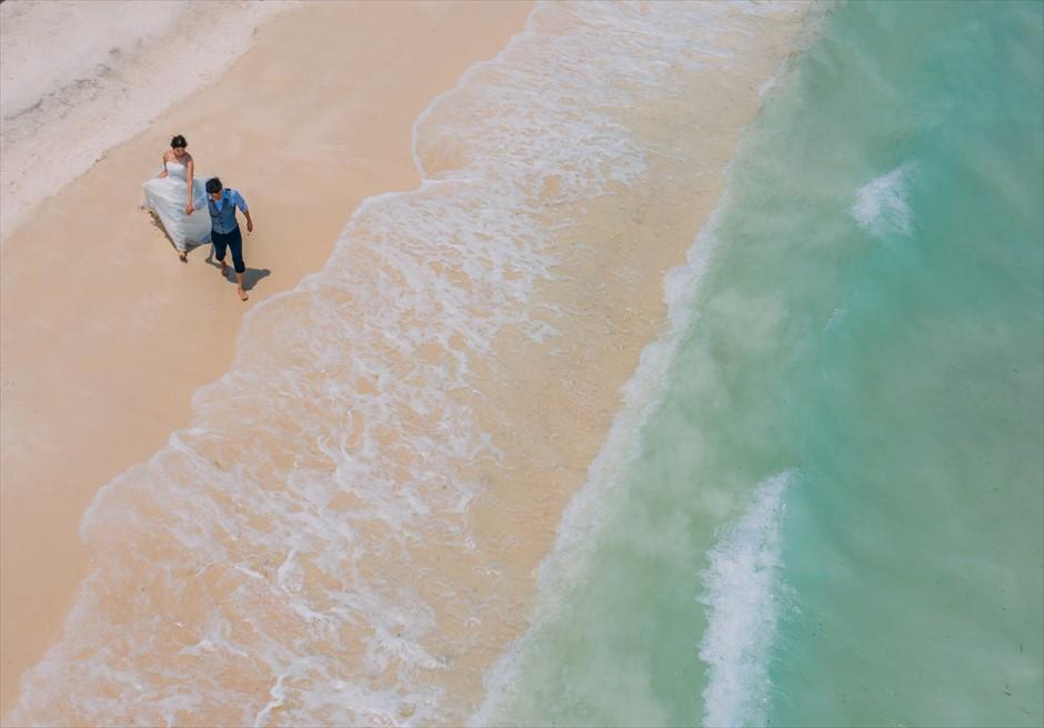 セブ ボホール島フォトウェディング ドローン・ビーチ撮影