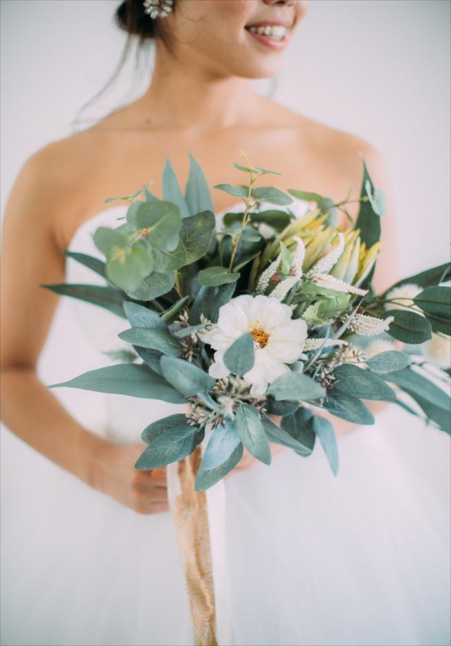 セブ島結婚式前撮り撮影 レンタルブーケ