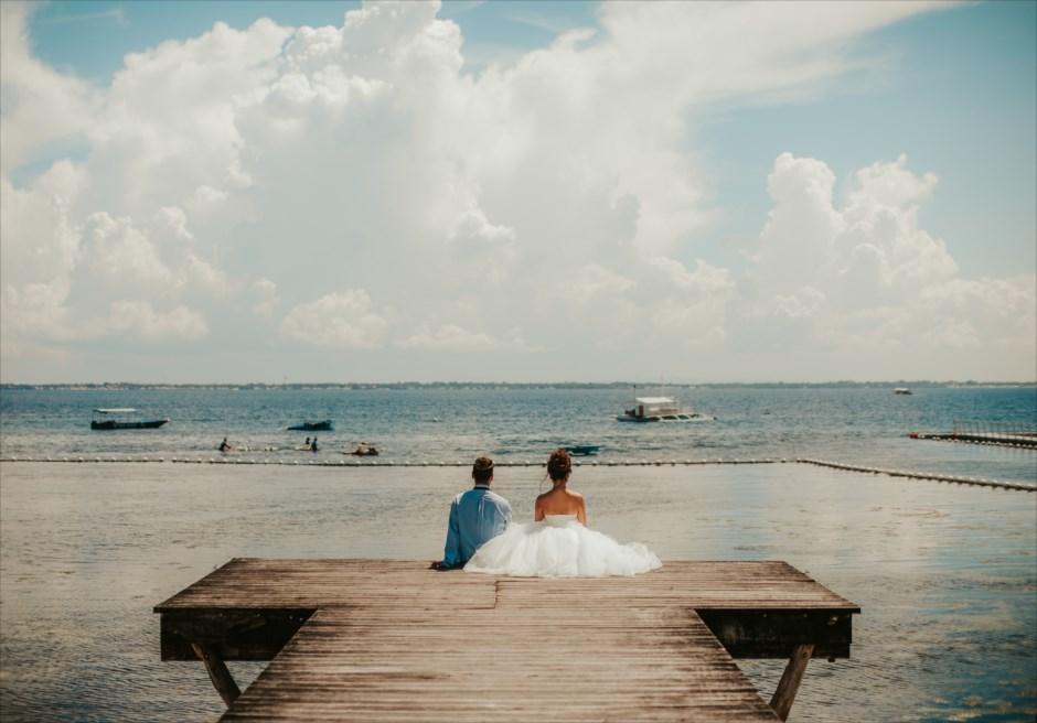 セブ島結婚式前撮り フォトロケーション カップル撮影