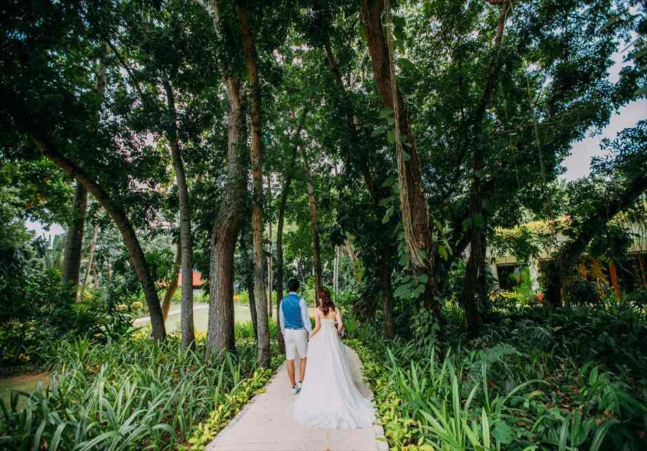 セブ島前撮り シャングリラ・マクタン ガーデンフォト