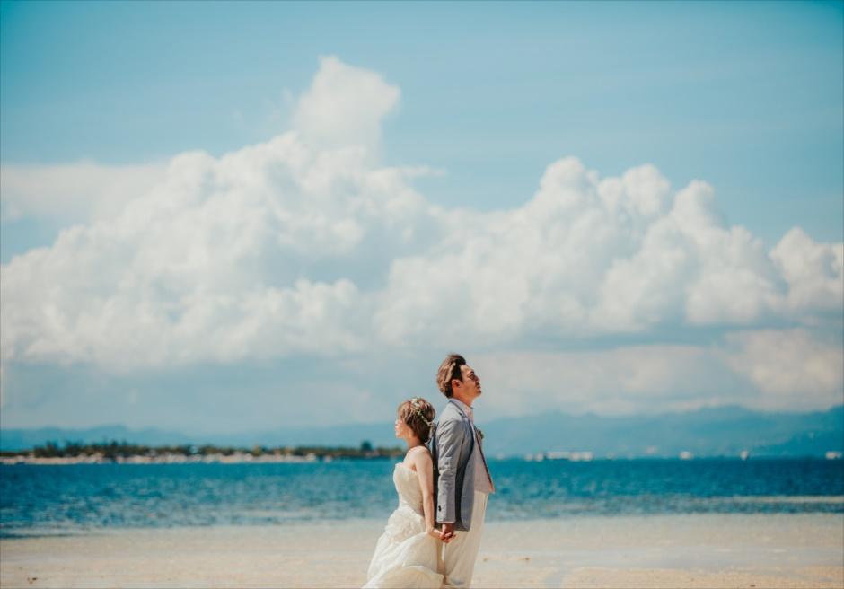 セブ前撮り カップルフォト カオハガン島ビーチ