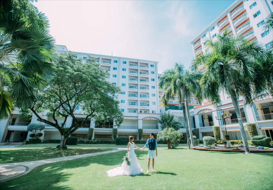 セブ島フォトロケーション ガーデン撮影 ジェイパークホテル