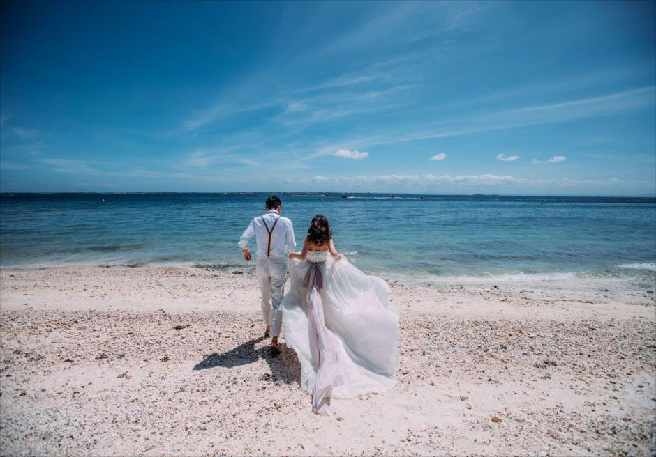 セブ島ビーチ・フォトウェディング カップル撮影