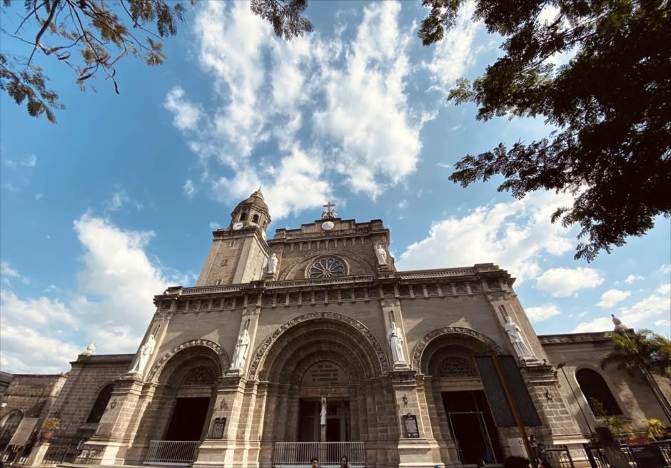 マニラ結婚式前撮り マニラ大聖堂 撮影ロケーション