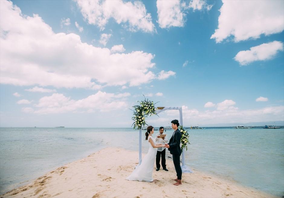 セブ島セレモニー・フォトウェディング 離島ビーチ撮影 日本人スタッフ