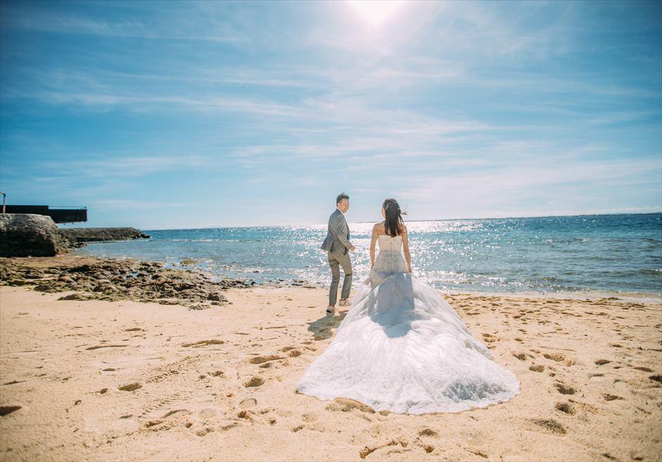 セブ島結婚式前撮り ビーチ撮影 カップルフォト