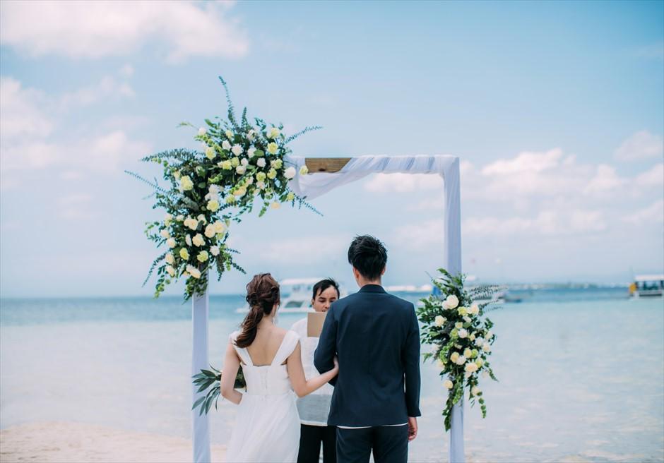 セブ島結婚式 ふたり挙式 ビーチウェディング