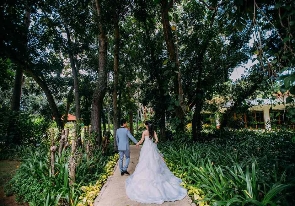 セブ島結婚式前撮り 日本人スタッフがサポート シャングリラ